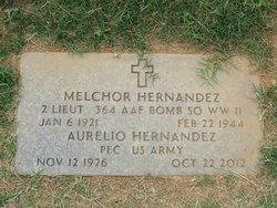 Second Lieutenant Melchor Hernandez
