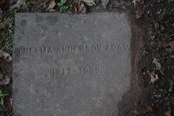 Thelma Frances <I>Anderson</I> Adams