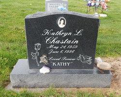 "Kathryn L. ""Kathy"" <I>Griego</I> Chastain"