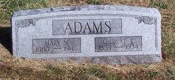 Mary Miller <I>Green</I> Adams