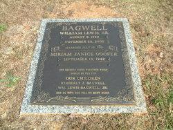 William Lewis Bagwell Sr.