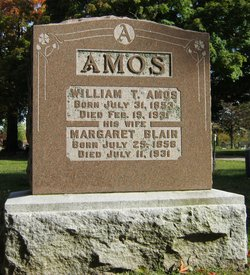 Margaret <I>Blair</I> Amos