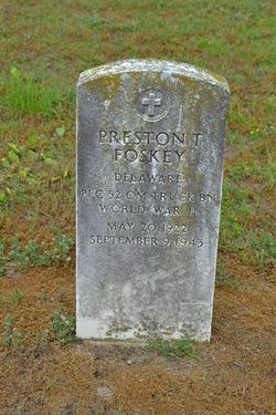 PFC Preston Thomas Foskey