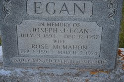 Rose <I>McMahon</I> Egan
