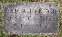 Mary Abby <I>Bickford</I> Smith