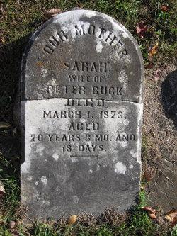 Sarah Buck