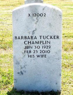 Barbara <I>Tucker</I> Champlin