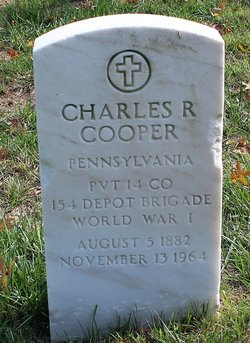 Charles R Cooper