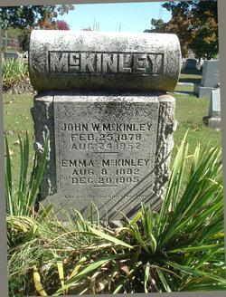 "8541e1ed11 Emaline Jane ""Emma"" Rose McKinley (1882-1905) - Find A Grave Memorial"