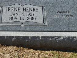 Irene <I>Henry</I> Bell