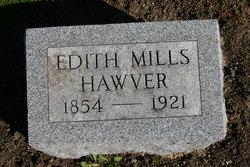 Edith Edora <I>Mills</I> Hawver