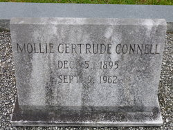 """Mary Gertrude """"Mollie"""" <I>Fountain</I> Connell"""