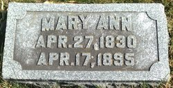 Mary Ann Hargreaves