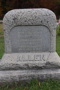 Lavantia <I>Brown</I> Allen