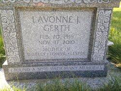 Lavonne J Gerth