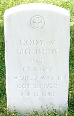 Cody W Big John