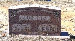 Annie Mae <I>Doss</I> Curtis