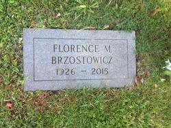 Florence M. <I>Winkowski</I> Brzostowicz