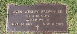 Avin Wesley Brownlee
