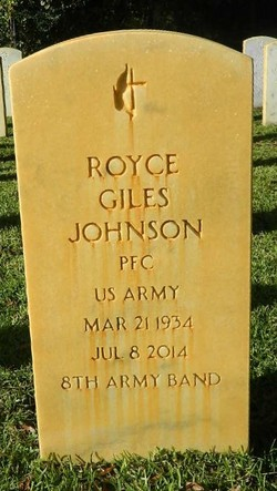 Royce Giles Johnson