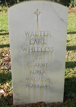 Walter Earl Wheeless