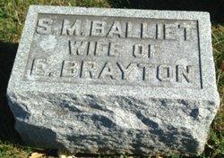 Susan Marie <I>Balliet</I> Brayton