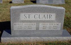 Fred Folsom St. Clair