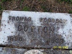 Thomas Woodson Cotton