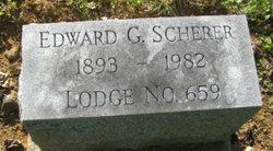 Edward G Scherer