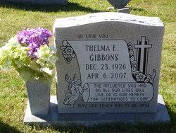 Thelma E. Gibbons
