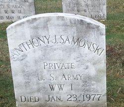 Pvt Anthony J Samonski