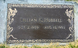 Lillian K Hubbell