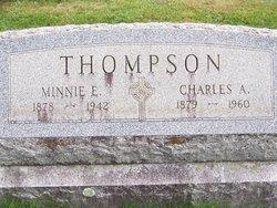 Minnie E <I>Scanlon</I> Thompson