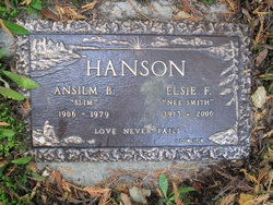 "Ansilm B. ""Slim"" Hanson"