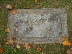 Ruth <I>Leavitt</I> Reed