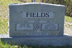 Gladys <I>Cook</I> Fields