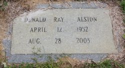 Donald Ray Alston