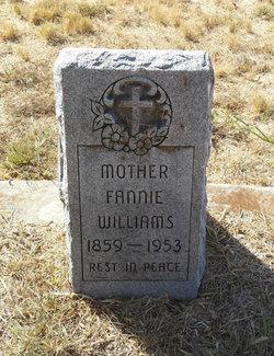 Fannie <I>Rollans</I> Williams