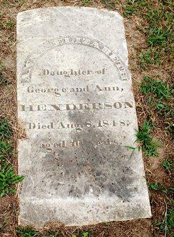 Anna Elizabeth Henderson