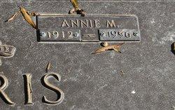 Annie Mae <I>crowder</I> Harris