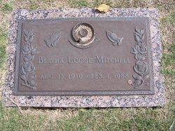 Bertha Louise <I>Radke</I> Mitchell