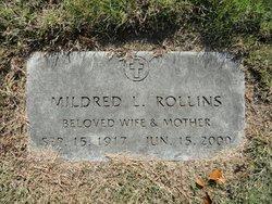 Mildred L Rollins