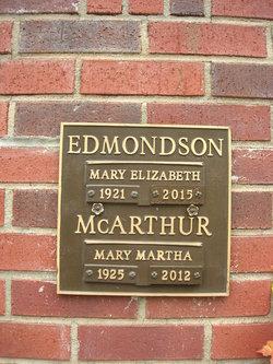 Mary Elizabeth Edmondson