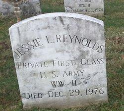 PFC Jessie L Reynolds