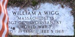 William A Wigg