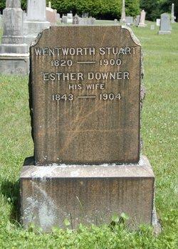 Esther <I>Downer</I> Stuart