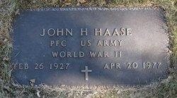 John H. Haase