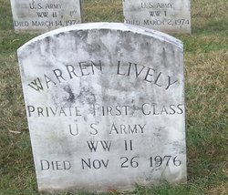 PFC Warren Lively