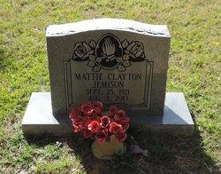 Mattie Clayton Jemison