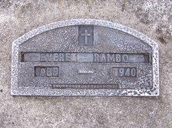 Everett John Rambo